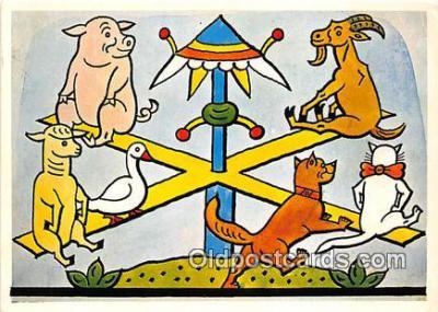 xrt356074 - Artist Josef Lada J Lady Postcard Post Card