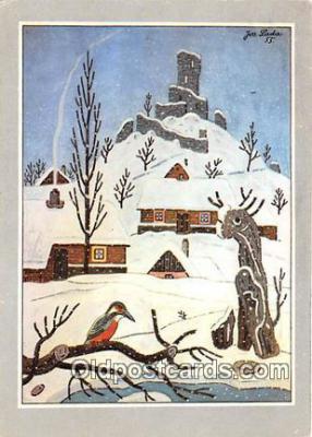 xrt356085 - Artist Josef Lada Josefa Lady Postcard Post Card