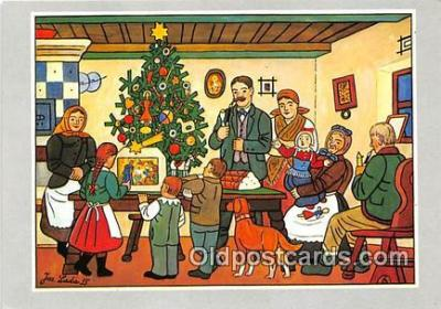 xrt356097 - Artist Josef Lada J Lady Postcard Post Card