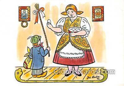 xrt356106 - Artist Josef Lada J Lady Postcard Post Card