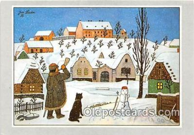 xrt356108 - Artist Josef Lada J Lady Postcard Post Card
