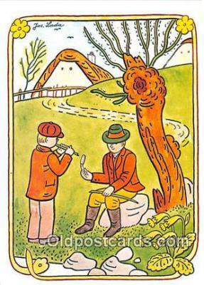xrt356113 - Artist Josef Lada J Lady Postcard Post Card