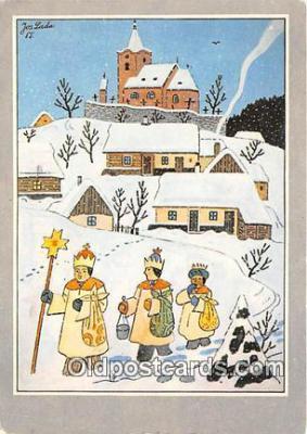 xrt356125 - Artist Josef Lada J Lady Postcard Post Card