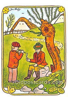xrt356127 - Artist Josef Lada J Lady Postcard Post Card