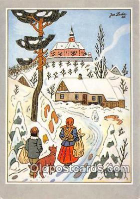 xrt356128 - Artist Josef Lada J Lady Postcard Post Card