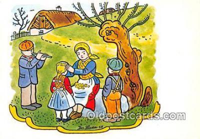 xrt356135 - Artist Josef Lada J Lady Postcard Post Card
