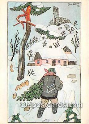 xrt356140 - Artist Josef Lada J Lady Postcard Post Card