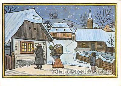 xrt356143 - Artist Josef Lada J Lady Postcard Post Card