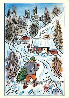 xrt356146 - Artist Josef Lada J Lady Postcard Post Card