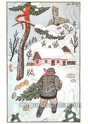 xrt356157 - Artist Josef Lada J Lady Postcard Post Card