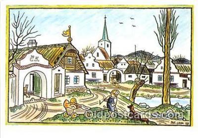 xrt356158 - Artist Josef Lada J Lady Postcard Post Card