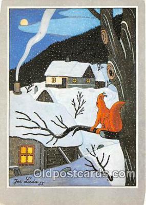 xrt356161 - Artist Josef Lada J Lady Postcard Post Card