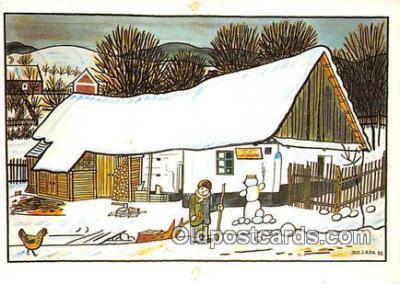 xrt356169 - Artist Josef Lada J Lady Postcard Post Card