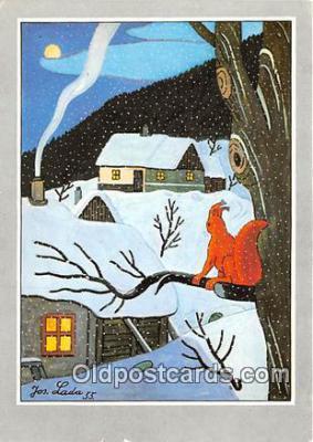 xrt356178 - Artist Josef Lada J Lady Postcard Post Card