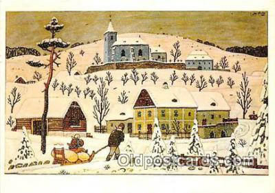 xrt356179 - Artist Josef Lada J Lady Postcard Post Card
