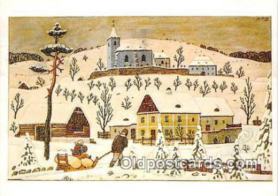 xrt356181 - Artist Josef Lada J Lady Postcard Post Card