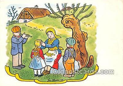 xrt356182 - Artist Josef Lada J Lady Postcard Post Card