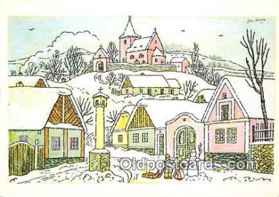 xrt356184 - Artist Josef Lada J Lady Postcard Post Card