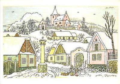 xrt356191 - Artist Josef Lada J Lady Postcard Post Card