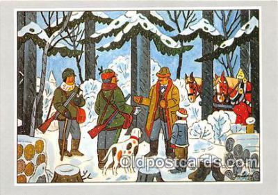 xrt356194 - Artist Josef Lada J Lady Postcard Post Card