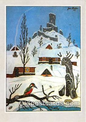 xrt356204 - Artist Josef Lada J Lady Postcard Post Card