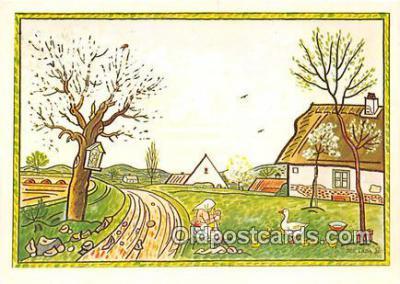 xrt356220 - Artist Josef Lada J Lady Postcard Post Card