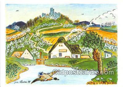 xrt356230 - Artist Josef Lada J Lady Postcard Post Card