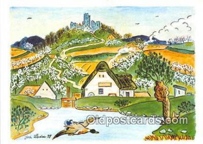 xrt356232 - Artist Josef Lada J Lady Postcard Post Card