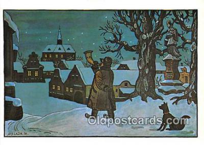 xrt356234 - Artist Josef Lada J Lady Postcard Post Card