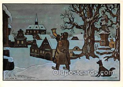xrt356238 - Artist Josef Lada J Lady Postcard Post Card
