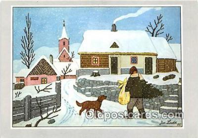 xrt356243 - Artist Josef Lada J Lady Postcard Post Card