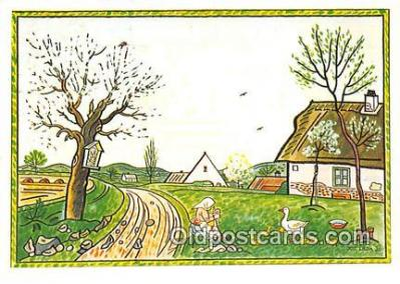 xrt356246 - Artist Josef Lada J Lady Postcard Post Card