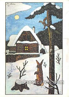 xrt356247 - Artist Josef Lada J Lady Postcard Post Card