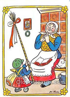 xrt356248 - Artist Josef Lada J Lady Postcard Post Card