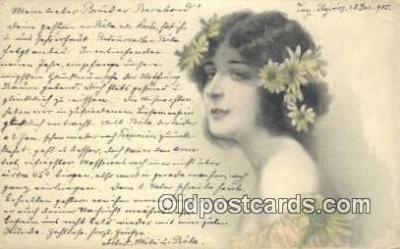 xrt500003 - Artist Signed Postcard Post Cards Old Vintage Antique