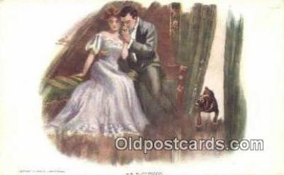 xrt500016 - Artist Signed Postcard Post Cards Old Vintage Antique