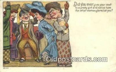 xrt500018 - Artist Signed Postcard Post Cards Old Vintage Antique