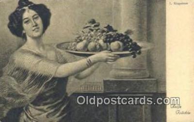 xrt500026 - Artist Signed Postcard Post Cards Old Vintage Antique