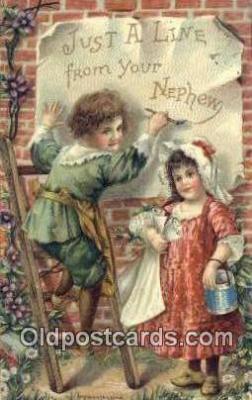 xrt500040 - Artist Signed Postcard Post Cards Old Vintage Antique