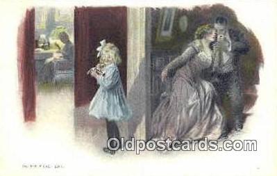 xrt500042 - Artist Signed Postcard Post Cards Old Vintage Antique