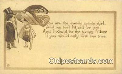 xrt500047 - Artist Signed Postcard Post Cards Old Vintage Antique
