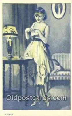 xrt500059 - Artist Signed Postcard Post Cards Old Vintage Antique