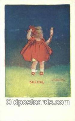 xrt500070 - Artist Signed Postcard Post Cards Old Vintage Antique