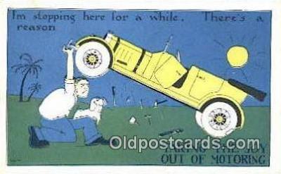 xrt500072 - Artist Signed Postcard Post Cards Old Vintage Antique