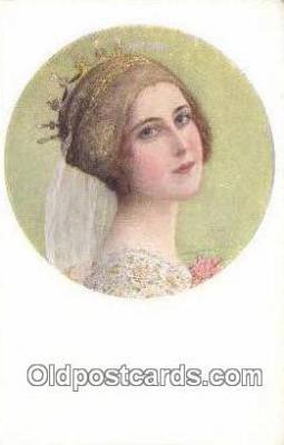 xrt500099 - Artist Signed Postcard Post Cards Old Vintage Antique