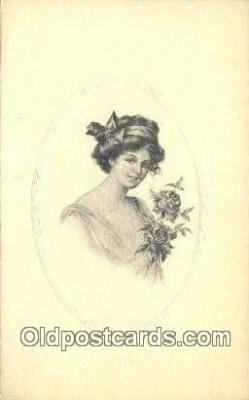 xrt500102 - Artist Signed Postcard Post Cards Old Vintage Antique