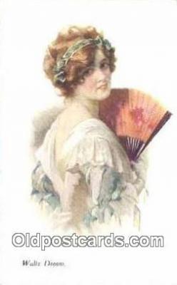 xrt500105 - Artist Signed Postcard Post Cards Old Vintage Antique