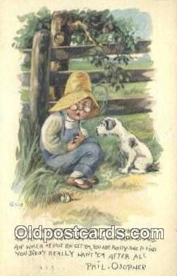 xrt500110 - Artist Signed Postcard Post Cards Old Vintage Antique