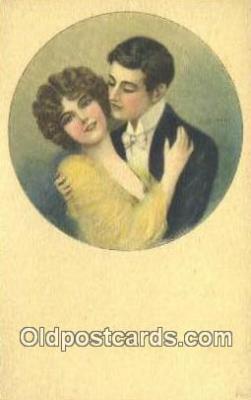 xrt500144 - Artist Signed Postcard Post Cards Old Vintage Antique