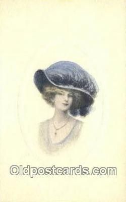 xrt500149 - Artist Signed Postcard Post Cards Old Vintage Antique